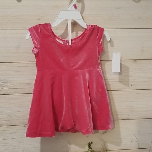 Velvet Pink Dress w/ under pants